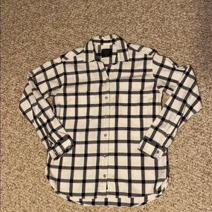 Abercrombie long sleeve button down